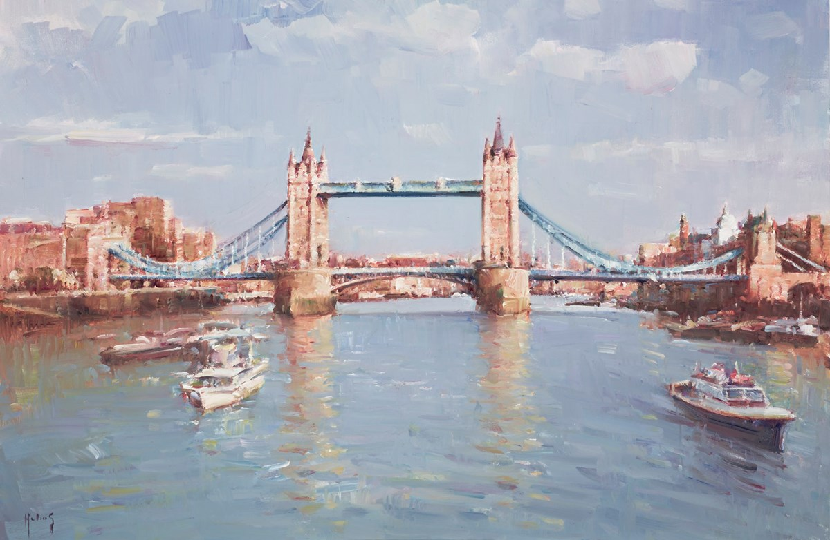 Towards Tower Bridge by helios -  sized 30x20 inches. Available from Whitewall Galleries